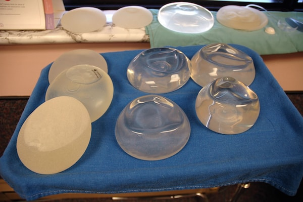 Breast Implant sizes