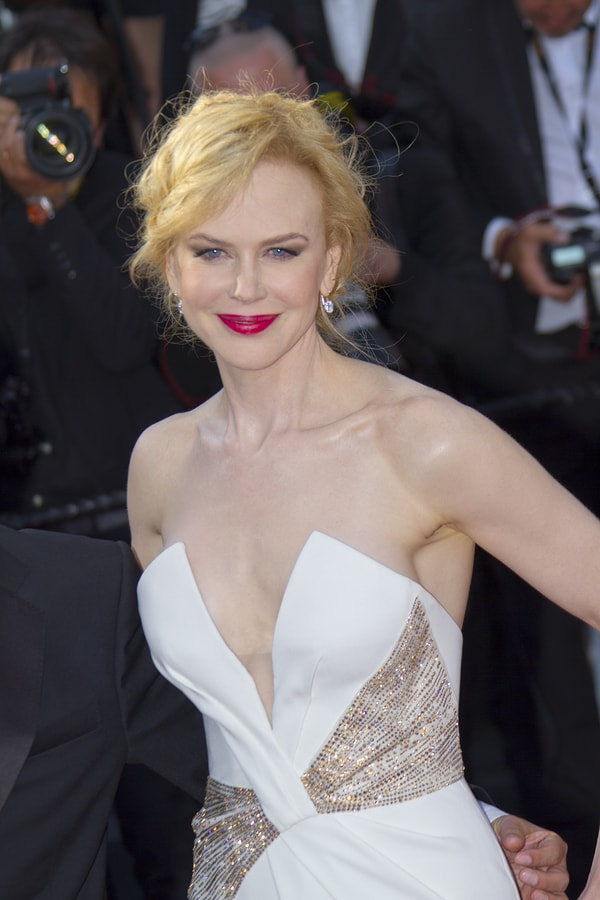 Nicole Kidman Sexy Dress