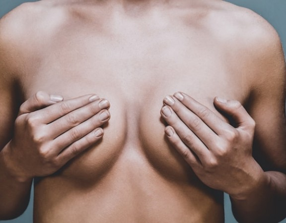 No cosmetic surgery breast enhancement